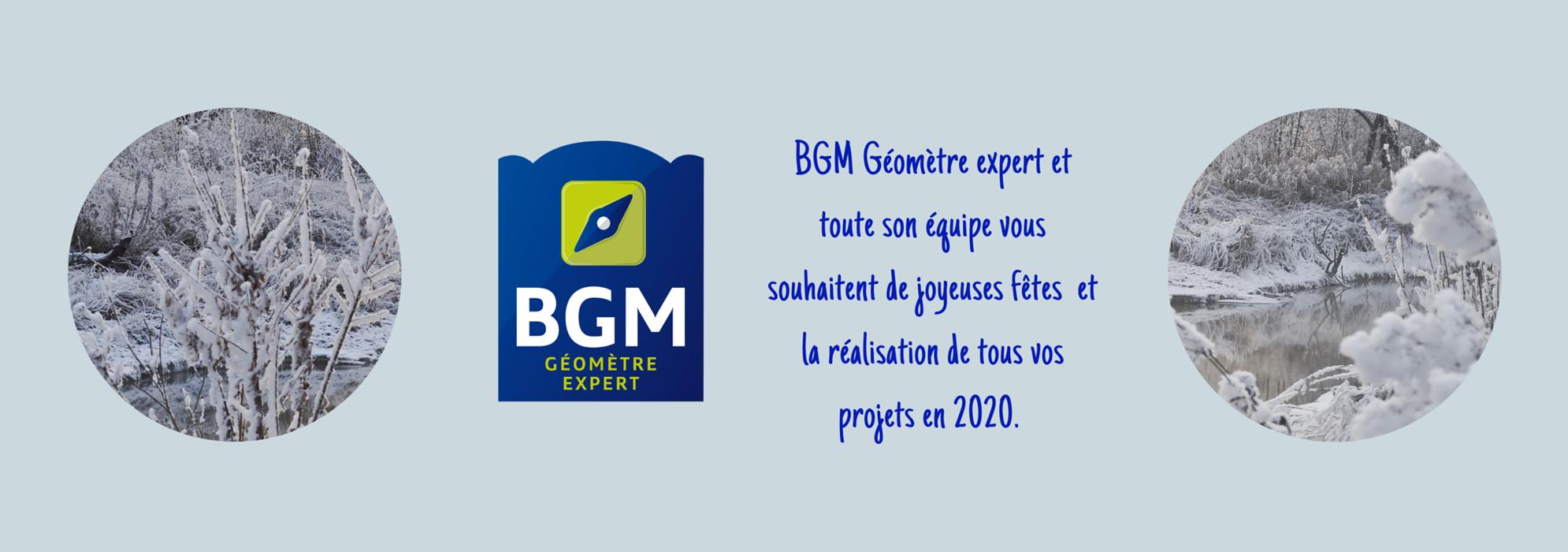 BGM Géomètre-Expert et toute son équipe vous souhaites de joyeuses fêtes et la réalisation de tous vos projets en 2020 0